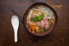 Vietnamese Pho Beef Soup Stock Photography