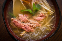 Vietnamese Pho Beef Soup Stock Images