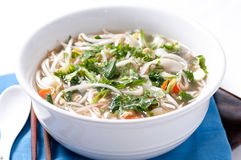 Vietnamese pho chicken soup Royalty Free Stock Photos
