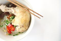 Vietnamese pho noodle Stock Photography