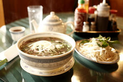 Vietnamese pho noodles Royalty Free Stock Photo