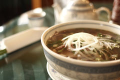 Vietnamese pho noodles Royalty Free Stock Photo
