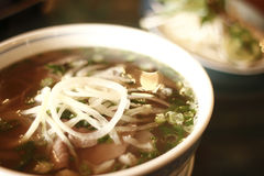 Vietnamese pho noodles Royalty Free Stock Image