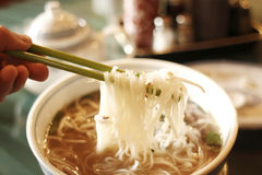 Vietnamese pho noodles Royalty Free Stock Photography