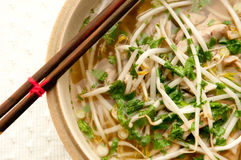 Vietnamese pho soup Stock Images
