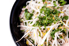 Vietnamese pho soup Royalty Free Stock Images