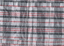 Vietnamese plastic woven bag texture Stock Images