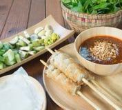 Vietnamese Pork Sausage Stock Photos