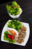 Vietnamese rice noodle roll Royalty Free Stock Photos