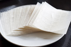 Vietnamese rice paper. Stock Photo