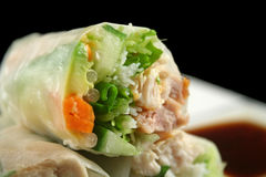 Vietnamese Rice Paper Roll Stock Photography