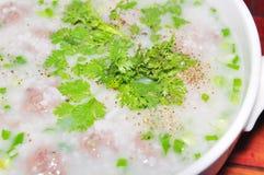 Vietnamese rice porridge Royalty Free Stock Photo