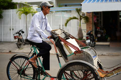 Vietnamese rickshaw Royalty Free Stock Photos