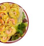 Vietnamese rijstpannekoek stock foto's