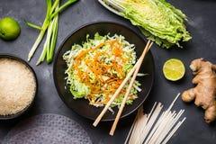 Vietnamese salade Royalty-vrije Stock Foto's