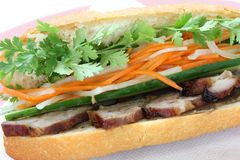 Vietnamese Sandwich Royalty Free Stock Photography