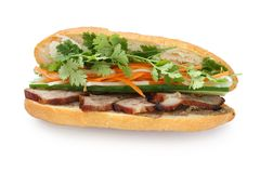 Vietnamese Sandwich Stock Photo