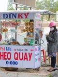 Vietnamese sandwiches voor verkoop Royalty-vrije Stock Foto