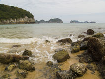 Vietnamese sea Royalty Free Stock Images