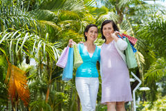 Vietnamese shopaholics Stock Photography