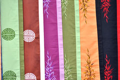 Vietnamese silk scarf Stock Images