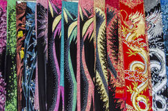 Vietnamese sjaals Stock Fotografie