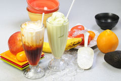 Vietnamese smoothies Royalty Free Stock Photos