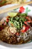 Vietnamese soep Royalty-vrije Stock Foto's