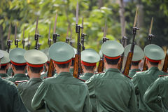 Vietnamese soldiers Stock Images