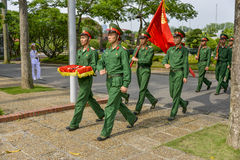 Vietnamese soldiers Royalty Free Stock Image