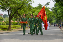 Vietnamese soldiers Royalty Free Stock Photos