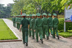 Vietnamese soldiers Stock Image