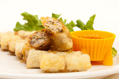 Vietnamese spring roll Stock Photo