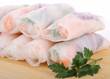 Vietnamese spring roll Stock Photos