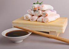 Vietnamese spring roll Royalty Free Stock Photos