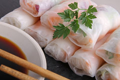 Vietnamese spring roll Stock Images