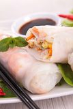 Vietnamese spring roll Royalty Free Stock Photography