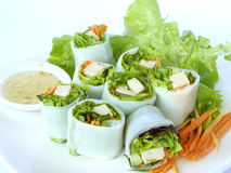 Vietnamese Spring Roll Royalty Free Stock Image