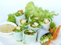 Vietnamese Spring Roll Stock Photo