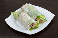 Vietnamese spring roll Stock Image