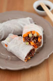 Vietnamese spring rolls with quinoa Royalty Free Stock Images