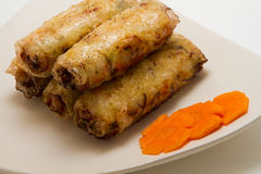 Vietnamese Spring rolls Royalty Free Stock Photography