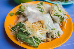 Vietnamese street food Royalty Free Stock Photo