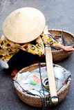 Vietnamese street life Royalty Free Stock Images
