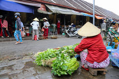 Vietnamese street market, Hoi An, Vietnam Stock Photos