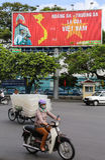 Vietnamese street scene Stock Image