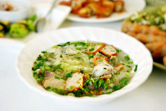 Vietnamese style food Stock Photos