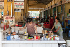 Vietnamese style food court Royalty Free Stock Images