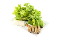 Vietnamese style food set corner dish Stock Image