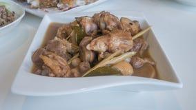 Vietnamese style food Stock Photo